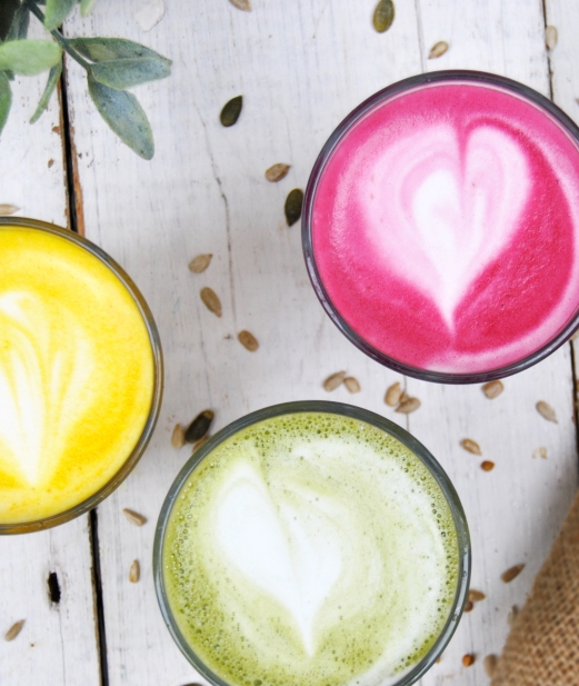 Try Our Superfood Lattes