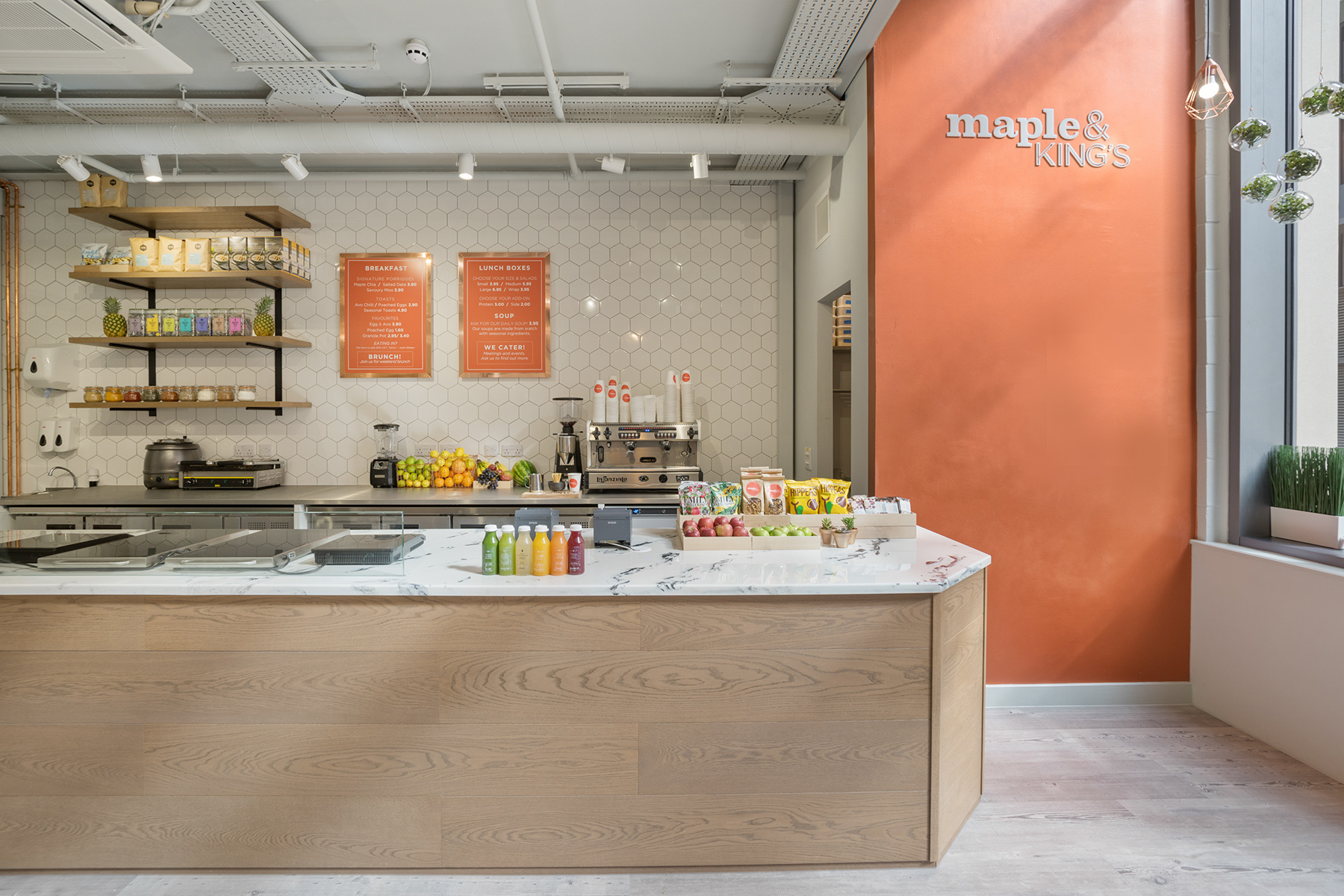 AE-Maple & King's-Restaurant-servery_front